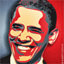 Image of President Obama artistically rendered